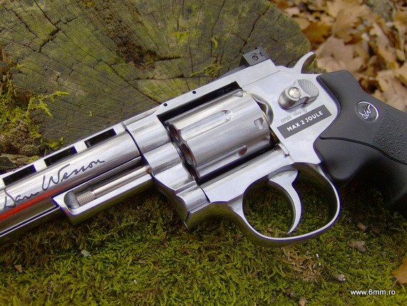 airsoft, asg, revolver, dan wesson