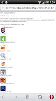 Screenshot of AppList