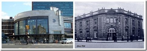 Terminal Atlantic en la actualidad y hacia 1905