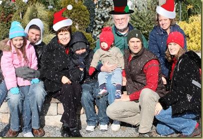 Johnsen Family Christmas Photo 2010