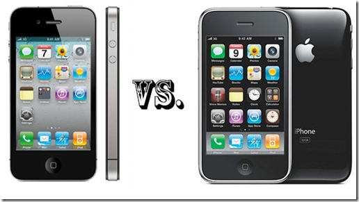 iphone 4gvs 3gs
