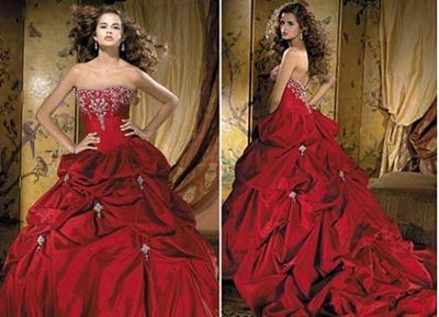 Red Wedding Dresses Cheap 28 Popular red wedding dresses