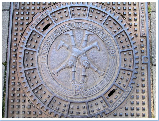 Manhole cover Duesseldorf