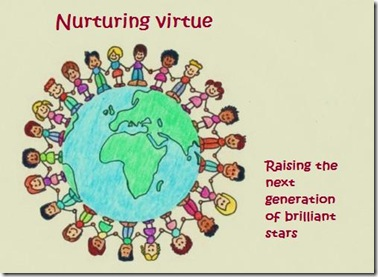 Nurturing virtues drawing [640x480] with title 2