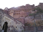 Mehrangarh - der Weg in die Festung