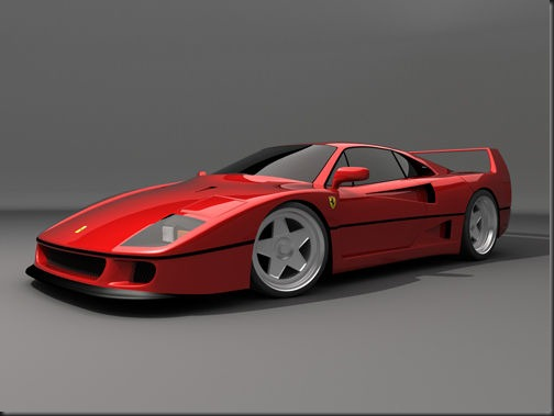 Ferrari f40 3d model – Free DownLoad