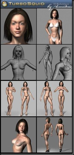 TurboSquid - 3D Model Alicia – Free DownLoad