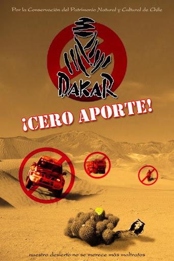 Rally Dakar Cero Aporte