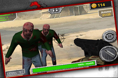 Last Shot Zombie - screenshot
