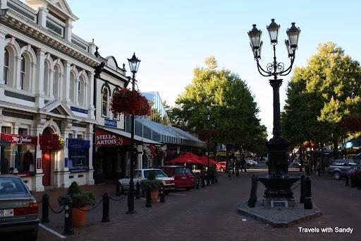 Trafalgar Street in Nelson, NZ