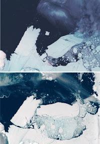 Glaciar Metz - Iceberg B9B