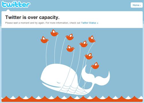 クジラ(Twitter is ver capacity)