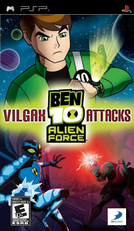 Ben 10: Alien Force Vilgax Attacks   PSP