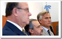 Los jueces Augusto Diez Ojeda, Mariano González Palazzo y Guillermo Yacobucci asumieron como nuevos camaristas