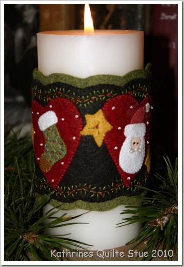 candle wrap