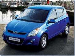 hyundai-i20 Blue color