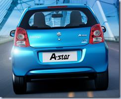 Maruti Suzuki A-Star blue