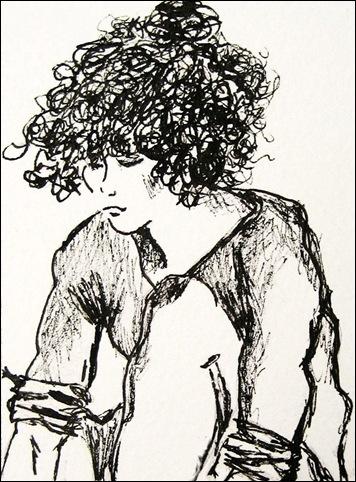 dancer doodle