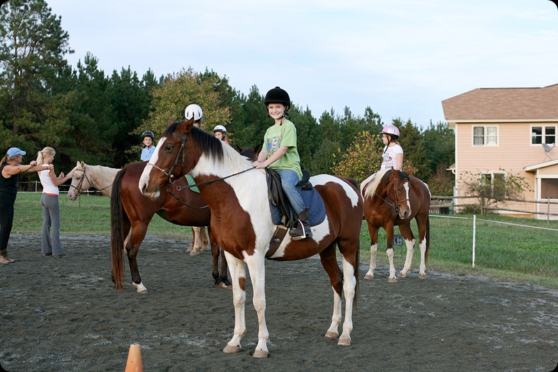 Horseback riding lesson 1