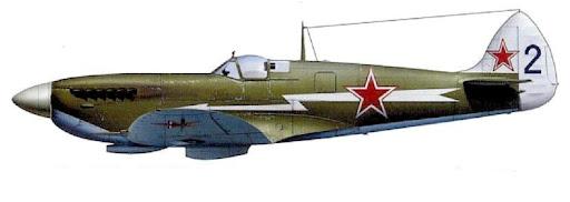 Spitfire Mk.ІХЕ на озброєнні ВПС СРСР