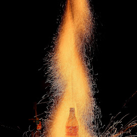 by Vibhash Awasthi - Abstract Fire & Fireworks