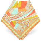 riviera silk square scarf emilio pucci forzieri
