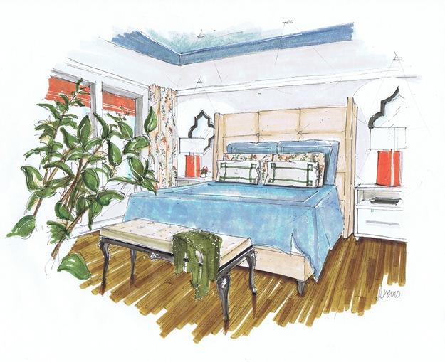 bedroom 2 seven inch