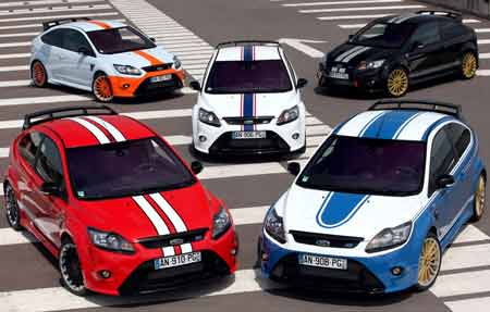 Ford Focus Rs 500. Ford Focus RS 500 Le Mans