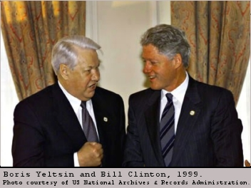 Yeltsin and Clinton