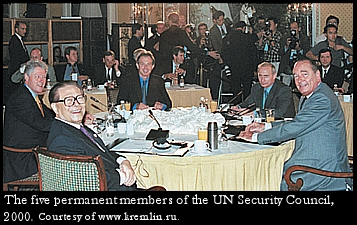 UN Security Council members