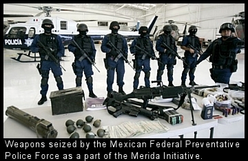 Mexican weapons seizures