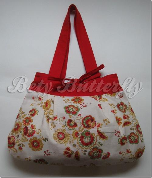 bolsa estamparia de flores