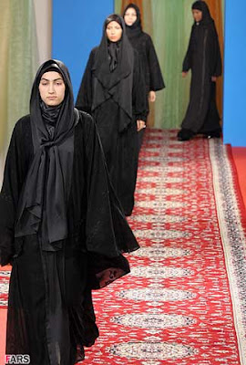 Fashion show in Iran