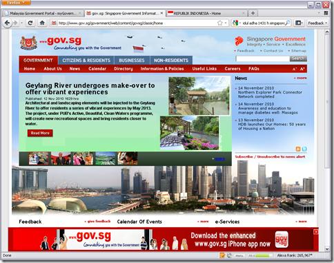 website pemerintah singapura