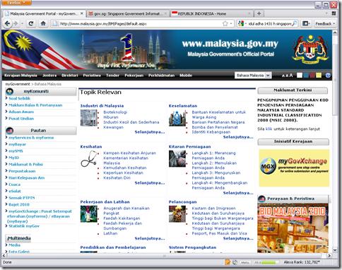 website pemerintah malaysia
