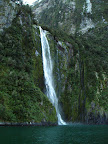 Milford Sound's Waterfall