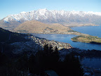 Queenstown from Skyline Gondola's peak