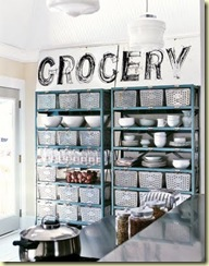 grocery locker basket - cl