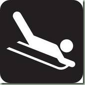 sledding sign