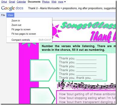 Download Google Docs 7