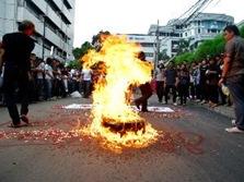 demo mahasiswa aksi sumpah pemuda