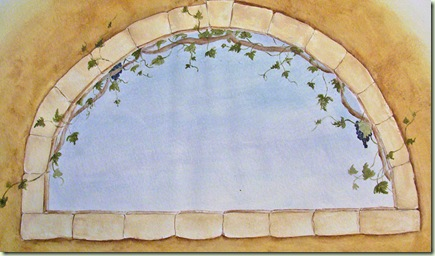 arched window rendering