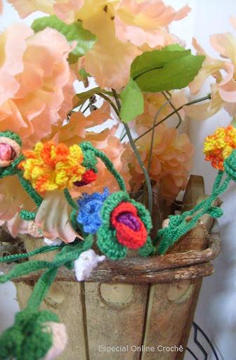 flores de croche