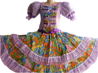 vestido de quadrilha junina