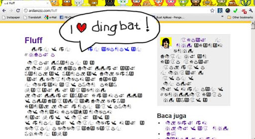 i love dingbat!
