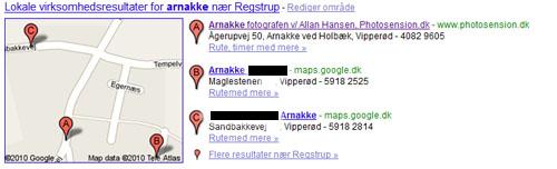 Arnakke Fotografen - Google søgeresultat
