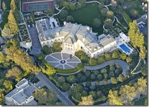 9.Aaron Spelling's Mansion