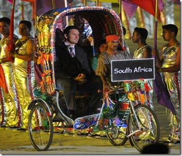 world cup 2011 opening ceremony South Africa's Graeme Smith[9]