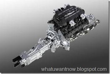 Lamborghini Aventador LP700-4 transmission