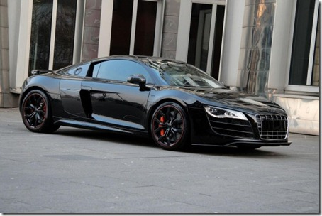 Audi-R8-Hyper-Black-Edition-Front-Angle-View